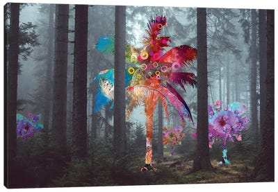 Diversity In The Forest Canvas Art Print