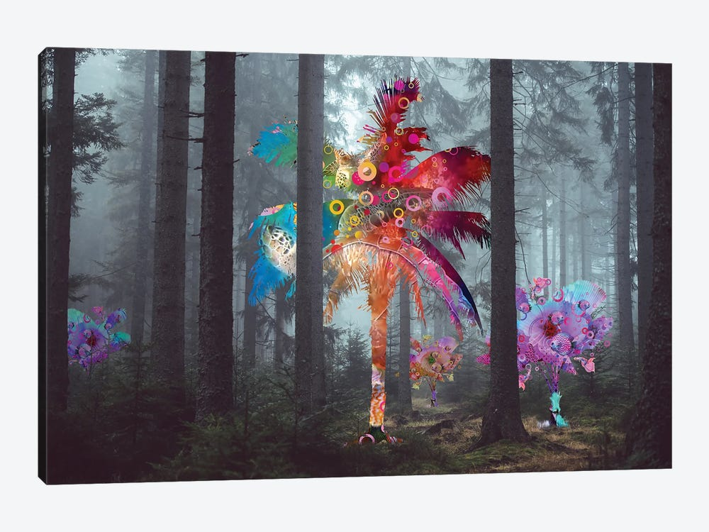 Diversity In The Forest by David Loblaw 1-piece Canvas Art