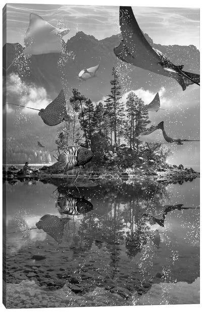 Rays Lake Canvas Art Print