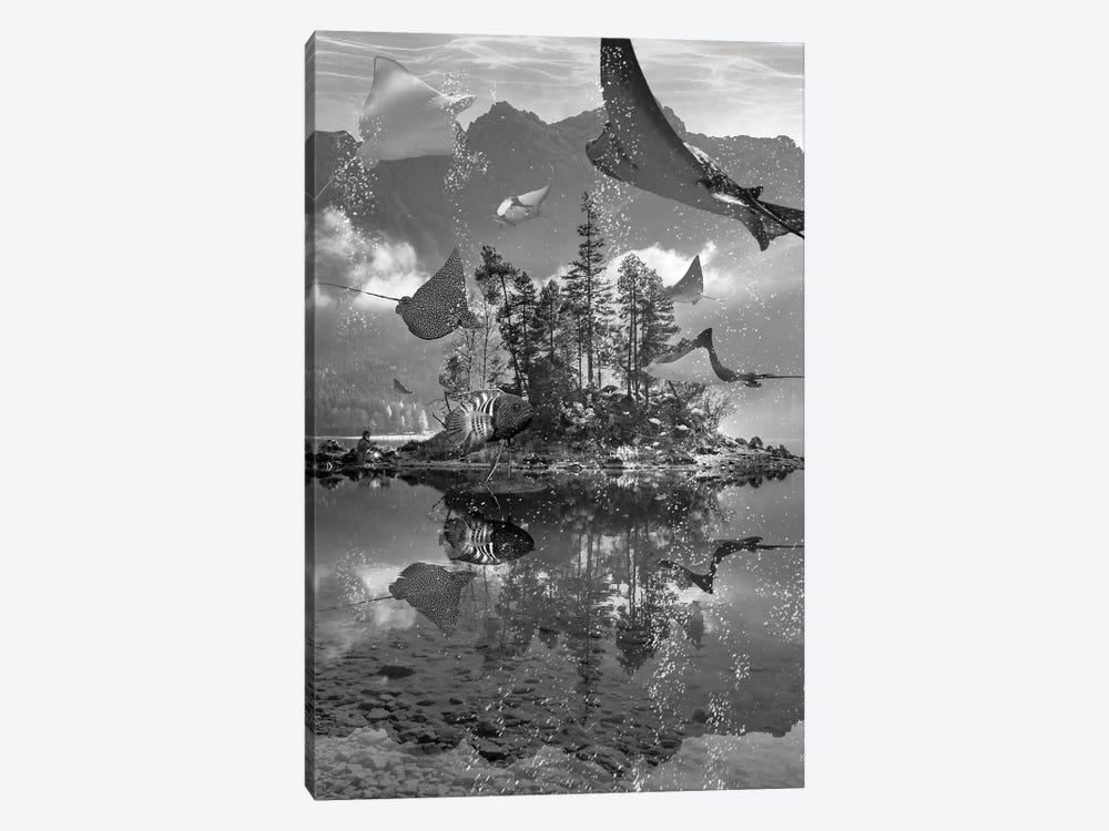 Rays Lake by David Loblaw 1-piece Canvas Art Print