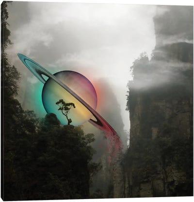 Saturn Landing Canvas Art Print