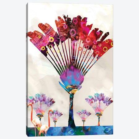 Travelers Palm Tree Canvas Print #DLB67} by David Loblaw Canvas Art