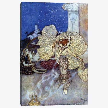 Princess Salome, Jewish Princess., 1911. Dr Canvas Print #DLC14} by Edmund Dulac Canvas Wall Art
