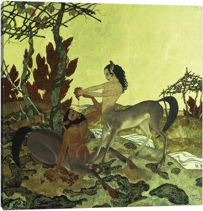 Autumn, 1921 Canvas Art Print