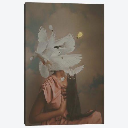 Light vs. Dark Canvas Print #DLE15} by Deandra Lee Canvas Wall Art