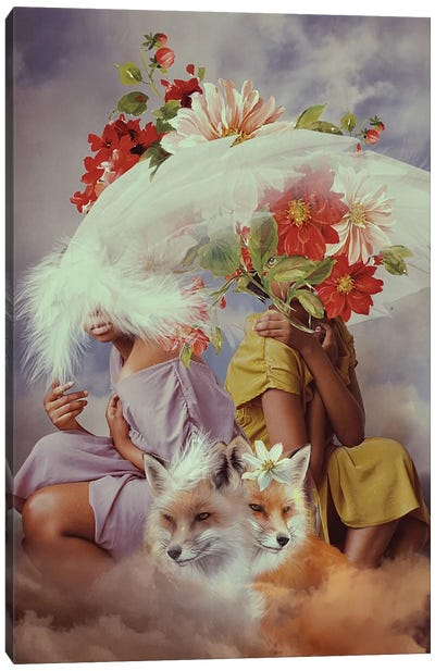 Coexistence Canvas Art Print