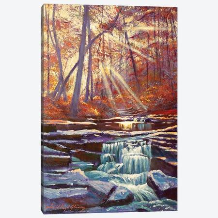 Moment Of Calm Canvas Print #DLG111} by David Lloyd Glover Art Print