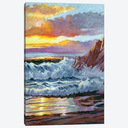 Northern California Coast Canvas Print #DLG122} by David Lloyd Glover Canvas Wall Art