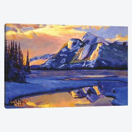 Iced Blue Canvas Print #DLG13} by David Lloyd Glover Canvas Art Print