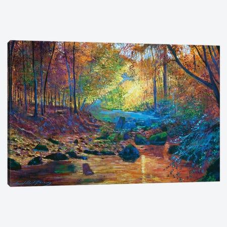 Quiet Autumn Moments Canvas Print #DLG143} by David Lloyd Glover Canvas Artwork