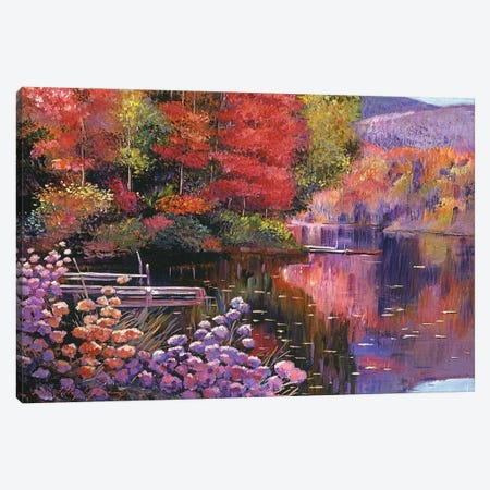 Reflections Of A Perfect Moment Canvas Print #DLG146} by David Lloyd Glover Canvas Art Print