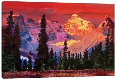 Rocky Mountain Colors Canvas Art Print