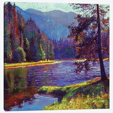 Lone Pine Canvas Print #DLG16} by David Lloyd Glover Canvas Wall Art