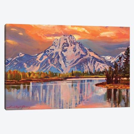 Still Water Reflections Canvas Print #DLG179} by David Lloyd Glover Canvas Print