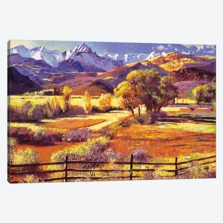 Foothills Ranch Canvas Print #DLG1} by David Lloyd Glover Canvas Print