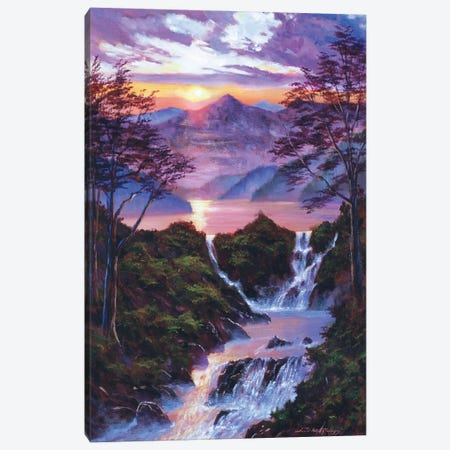 The Moment Of Serenity Canvas Print #DLG203} by David Lloyd Glover Canvas Print