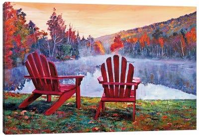 Vermont Romance Canvas Art Print