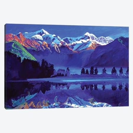 The Ultimate Blue Canvas Print #DLG220} by David Lloyd Glover Art Print