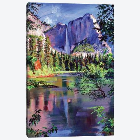 Yosemite Falls Canvas Print #DLG231} by David Lloyd Glover Canvas Wall Art