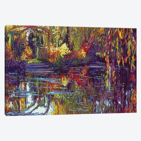 Tapestry Reflections Canvas Print #DLG2} by David Lloyd Glover Art Print