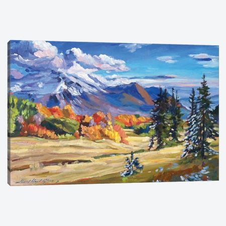 Autumn In The Foothills Canvas Print #DLG40} by David Lloyd Glover Canvas Artwork