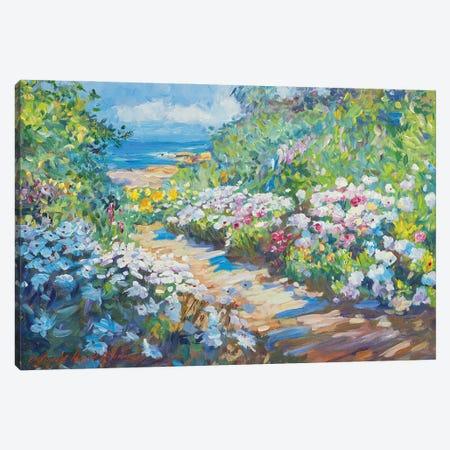 Carpenteria Beach Pathway Canvas Print #DLG61} by David Lloyd Glover Canvas Art