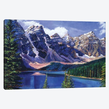 Crystal Blue Waters Canvas Print #DLG68} by David Lloyd Glover Canvas Artwork