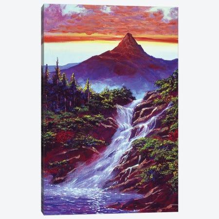 Falls At Monument Park Canvas Print #DLG81} by David Lloyd Glover Canvas Art