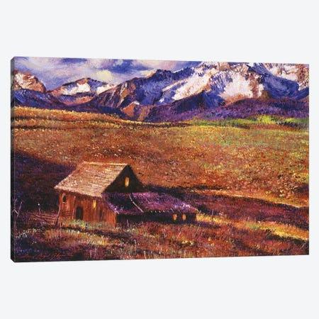 Foothill Ranch Canvas Print #DLG87} by David Lloyd Glover Canvas Art Print