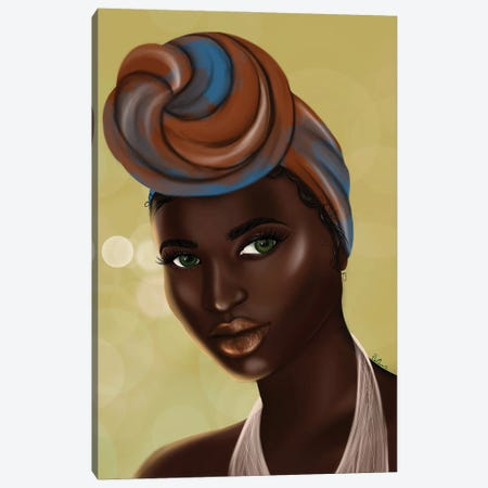 Black Girl Magic Canvas Print #DLH11} by DeeLashee Artistry Canvas Artwork