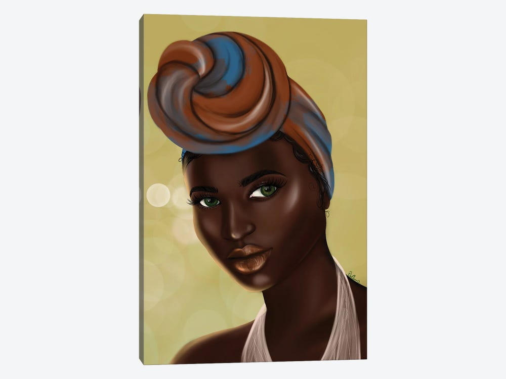 Black Girl Magic by DeeLashee Artistry 1-piece Canvas Print