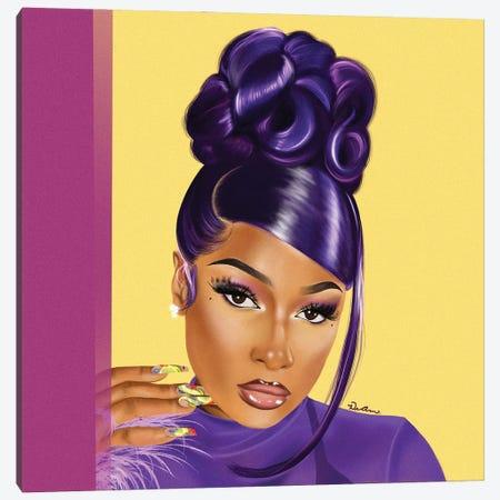 Meg Canvas Print #DLH18} by DeeLashee Artistry Canvas Wall Art