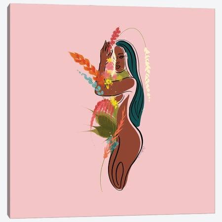 Mauve Canvas Print #DLH1} by DeeLashee Artistry Canvas Artwork