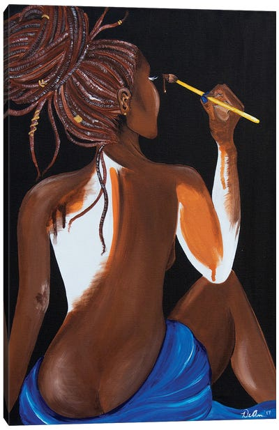 Self Healing Canvas Art Print