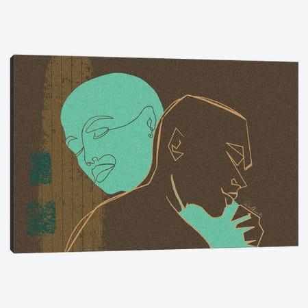 On Me Canvas Print #DLH34} by DeeLashee Artistry Art Print