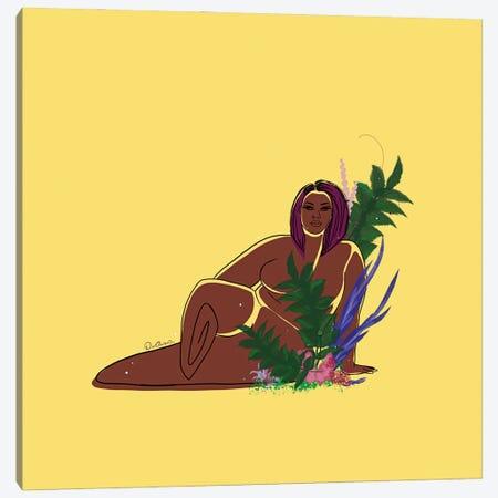Daffodil Canvas Print #DLH3} by DeeLashee Artistry Canvas Artwork