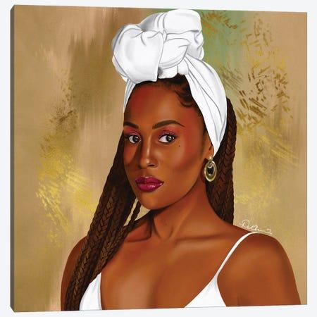Issa Canvas Print #DLH40} by DeeLashee Artistry Art Print