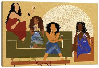 My Girlfriends Canvas Art Print