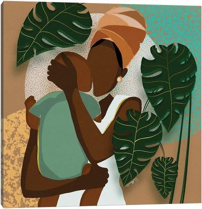 A Mother's Love Canvas Art Print
