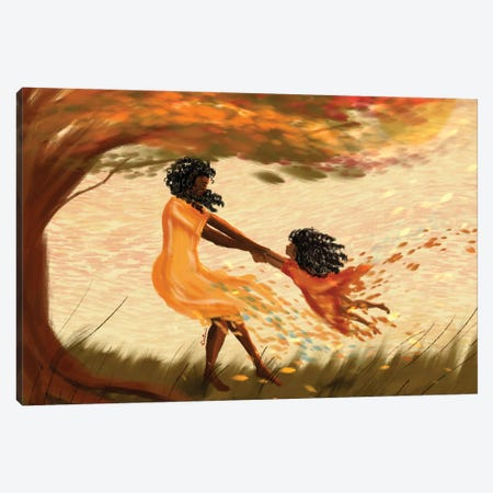 Look Ma Canvas Print #DLH47} by DeeLashee Artistry Canvas Wall Art