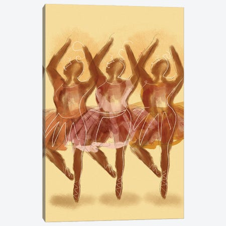 Creme De La Creme Canvas Print #DLH51} by DeeLashee Artistry Canvas Artwork