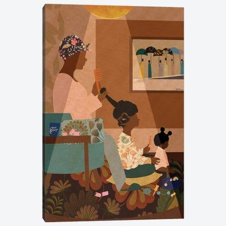 Sit Still Canvas Print #DLH53} by DeeLashee Artistry Canvas Artwork