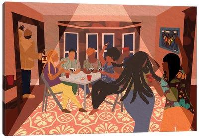 Grown Folk Bidness Canvas Art Print