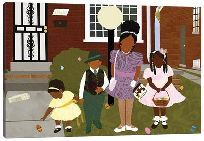 Easter Sunday Canvas Art Print