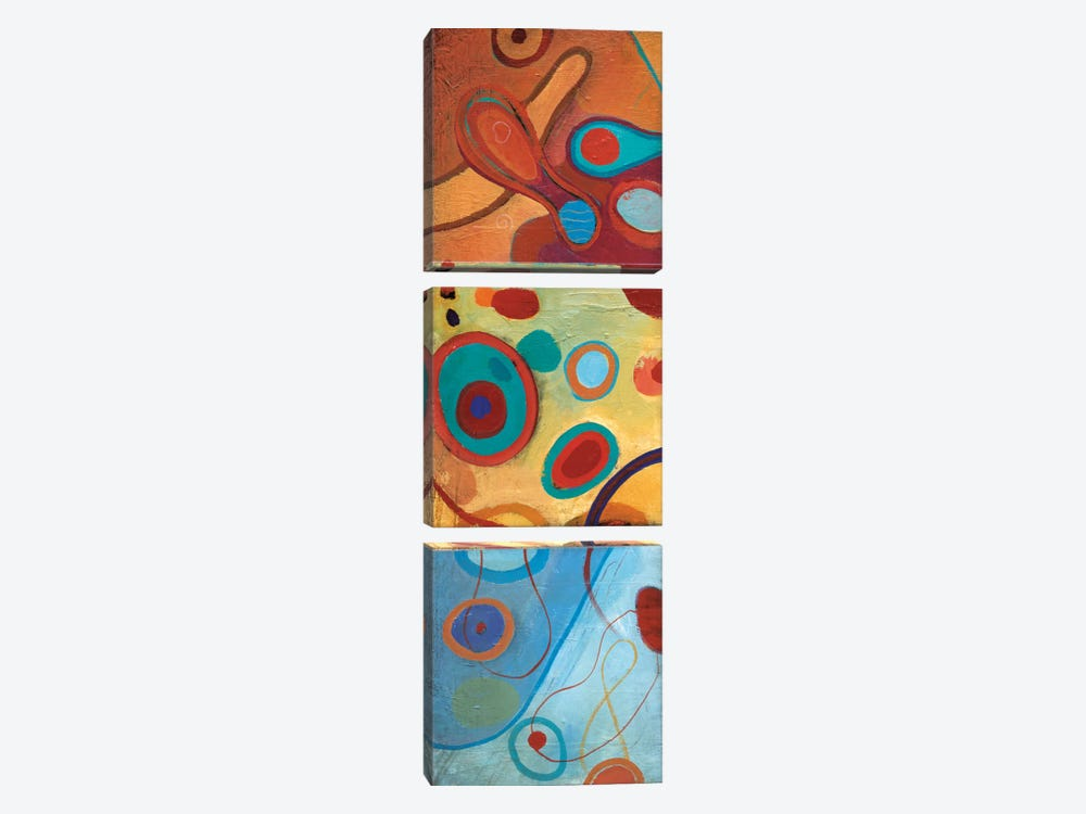 String Theory II by Don Li-Leger 3-piece Canvas Wall Art