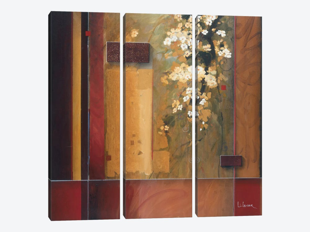 Summer Bloom by Don Li-Leger 3-piece Canvas Art