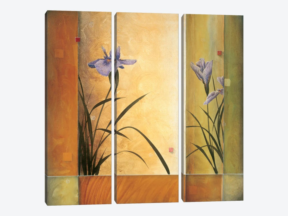 Terra Cotta Garden by Don Li-Leger 3-piece Canvas Artwork