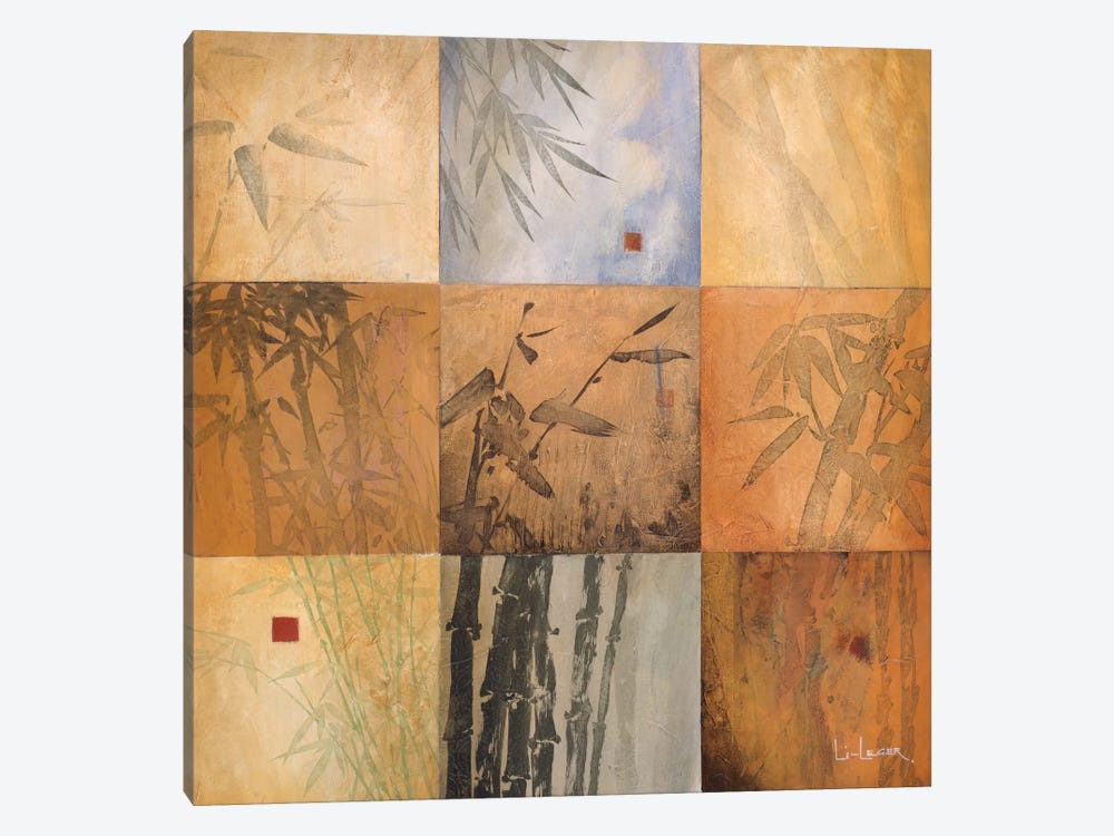Bamboo Nine Patch by Don Li-Leger 1-piece Canvas Art Print
