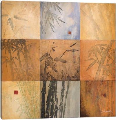 Bamboo Nine Patch Canvas Art Print