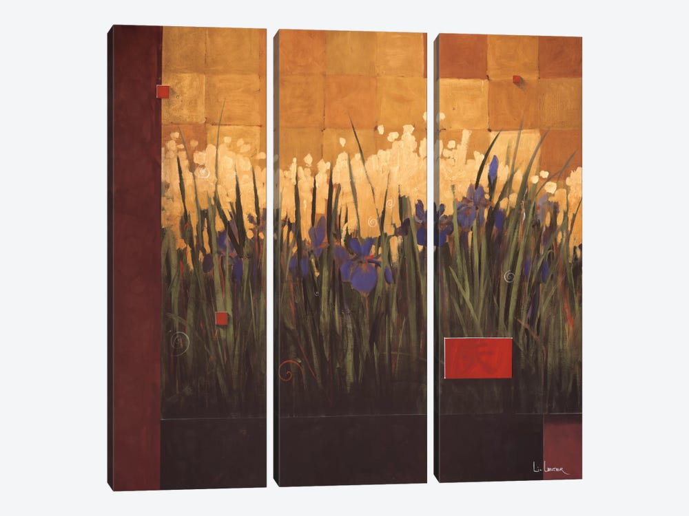 The Heavenly Art Of Gardening by Don Li-Leger 3-piece Canvas Art Print